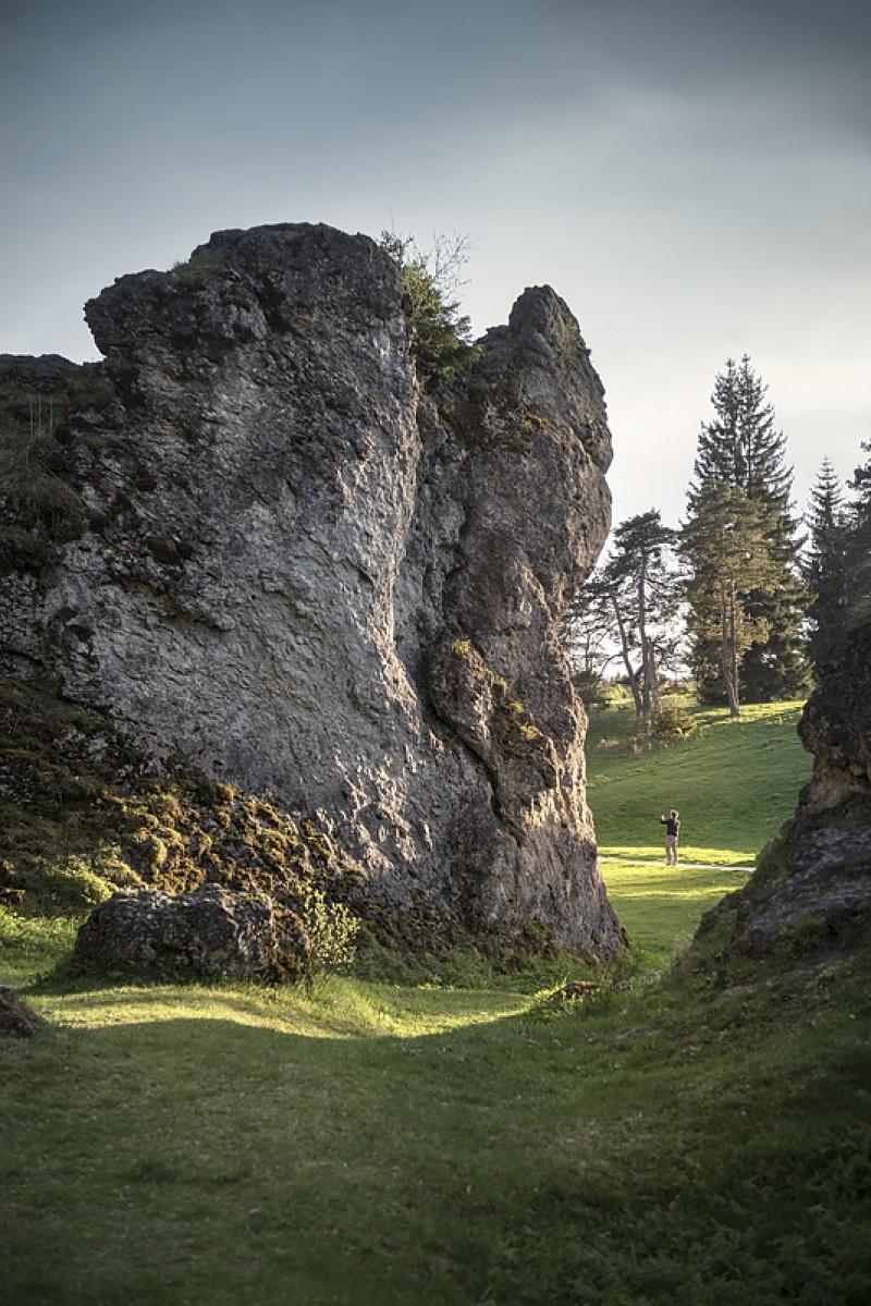 Das Wental mit seinen beeindruckenden Felsformationen auf der Nordöstlichen Alb: So abenteuerlich ist Wandern mit Kindern auf der Schwäbischen Alb
