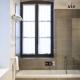 Chillout im Badezimmer mit zurückhaltendem Design.