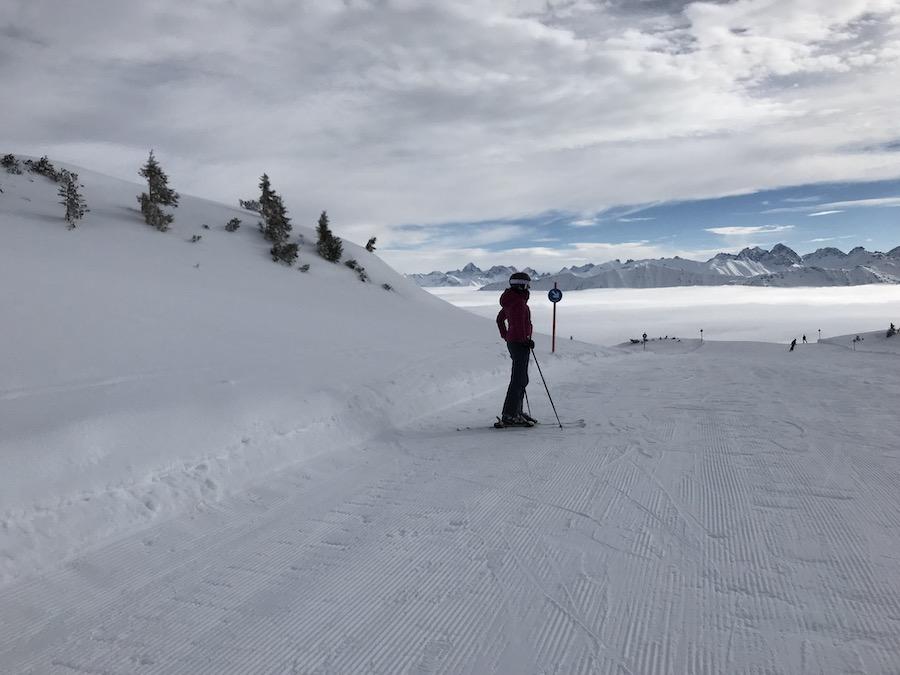 Dieser Ausblick im Skigebiet Ifen! (Foto @Anke Hainzinger privat)