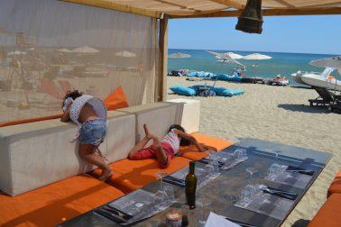 Die perfekte Strandbar mit Kindern