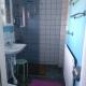 Das Badezimmer im Haupthaus