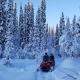 Schneescooter-Ausflug im Winterwonderland