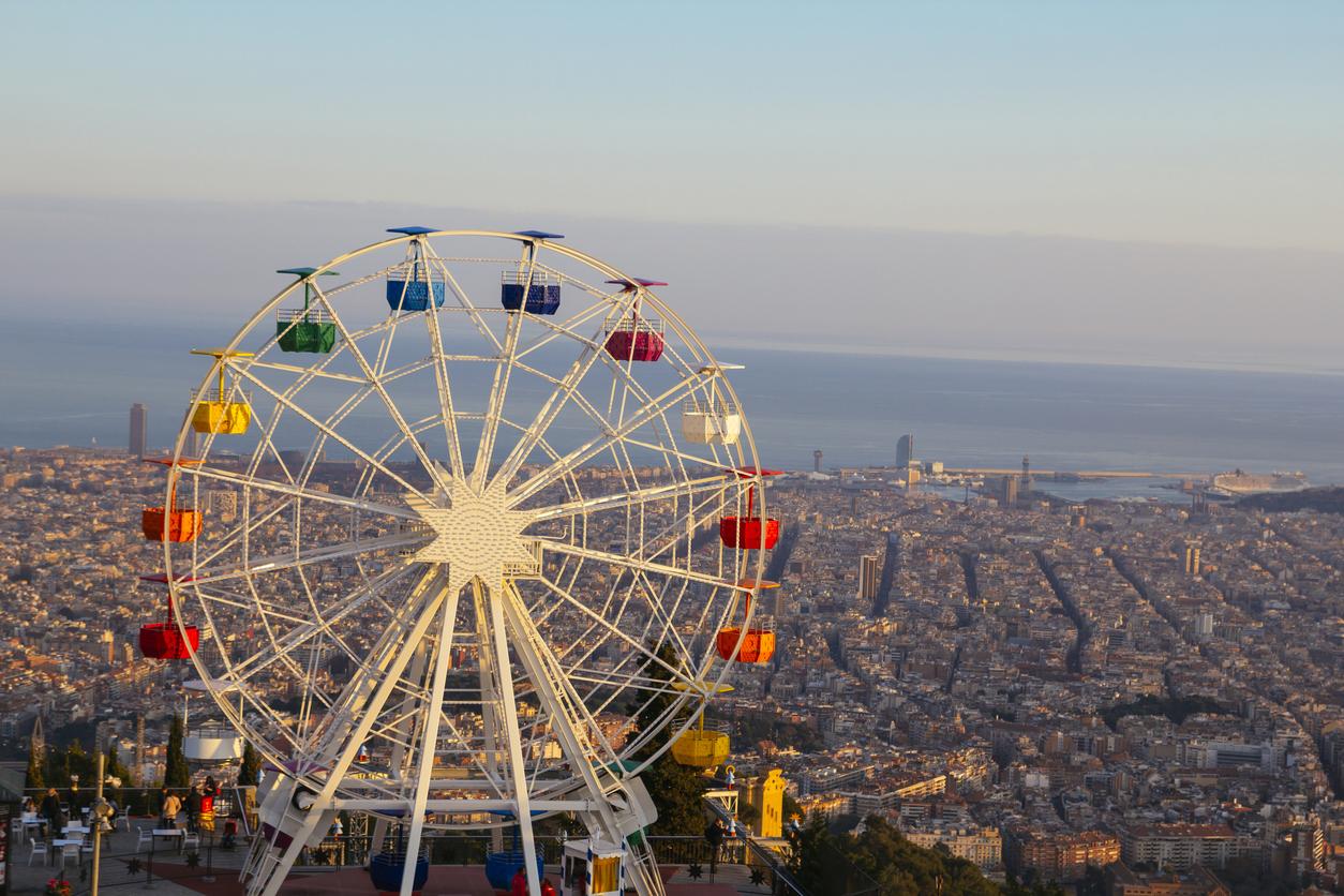 Den Blick vom Tibidabo, Barcelonas Hausberg solltet ihr nicht verpassen