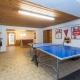 Der Tischtennisraum im Landgasthof Bergrast