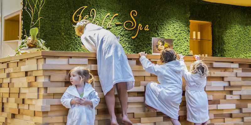 Die Kinder entern den SPA