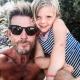 Gastgeber Marcus Love mit seiner Tochter