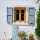 Typisch griechisch - die Fenster im Lime House