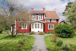Das Haus Villa Vilan mit den 3 Gästezimmern