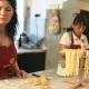 Die Little Travel Familie hat hier ihre ersten selbstgemachten Pasta produziert!