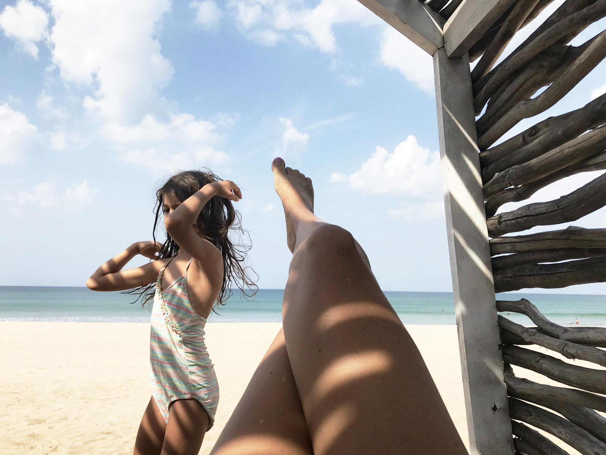 Es gibt schlimmeres als im Nordosten Sri Lankas am Strand zu liegen...