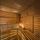 Saunaliebhaber können im Amarin in der finnischen Sauna, in der Bio- oder in der Aromasauna schwitzen oder im Dampfbad relaxen