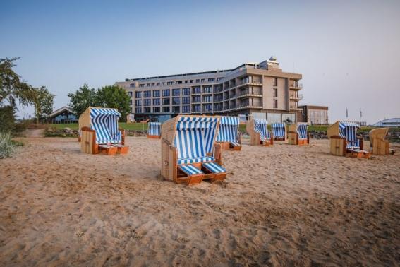 Das nigelnagelneue Arborea Marina Resort in der Lübecker Bucht