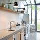 Alle Wohnungen im Bassivière sind mit modernen Luxus-Küchen ausgestattet