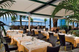 Frühstück auf der Terrasse im Benaco36 am Gardasee