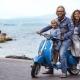 Die sympathische Gastgeberfamilie - Lisa, Michele und Sohn Leo