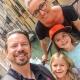Eure sympathische Gastgeberfamilie Christine und Höflehner mit den Kindern Anna und Juli