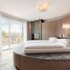 Im runden Bett der Rundai Suite träumt es sich doch gleich viel besser