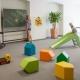 Im Spielzimmer gibts Spielzeug für die Kleinen und sogar eine Teenie-Zone
