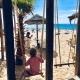 Der Happy Place von Vanessas Sohn an der Praia Melides