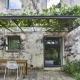 Die Pergola vom Apartment Zoo - perfekt für ein Gläschen Chianti im Schatten