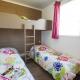 Ein Kinderzimmer in einem 5-Personen-Mobilehome