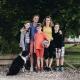 Eure Gastgeber Mandy und Bas mit ihren drei Jungs
