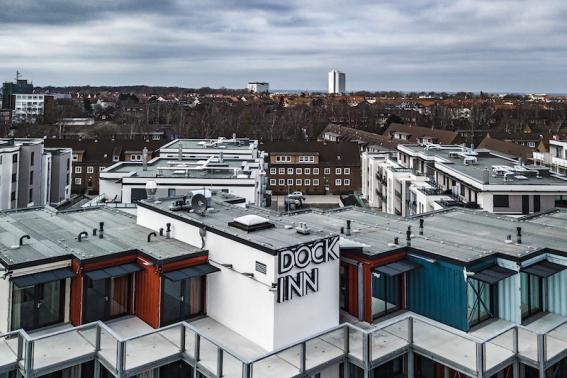 Das Dock Inn ist Warnemündes cooles, neues Hostel