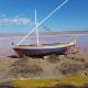 St. Pierre de la Mer ist für sein pinkfarbenes Wasser bekannt