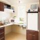 Eine Küche im Confort-Mobilehome