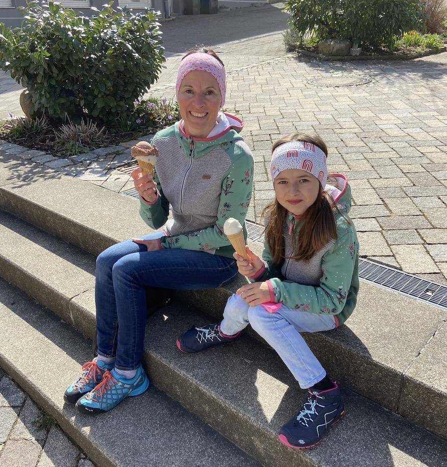 Als Belohnung winkt für wandernde Kids in Bad Grönenbach ein Eis! (Foto: privat Familie Daiber)