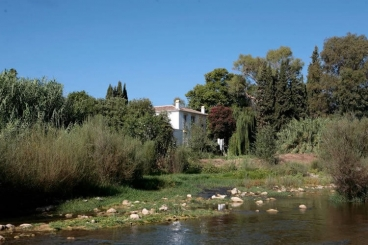 Wie Ihr seht - el Molino Santisteban liegt direkt am Fluss Río Grande