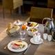 Eine dreiviertel Pension ist bereits im Zimmerpreis enthalten, so auch das reichhaltige Vital-Frühstück