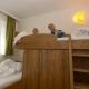 Im Appartement Reiteck im Haus Theresia gibt es zur Freude der Kinder Stockbetten