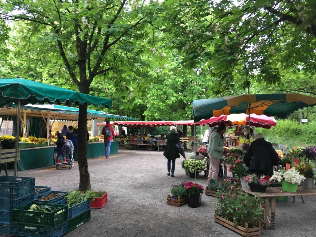 Stadtteil Whiere Markt