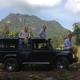 Die Gastgeber der Gal Oya Lodge - Tim, John und Sangjay. John ist halb Engländer halb Srilankese. Tim und Sangjay wuchsen gemeinsam in einer ähnlichen Lodge in Nepal auf.