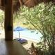 Ein Hüttchen zum Abhängen gabs auch am Pool