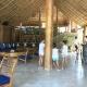 Hier geht´s lang zum Restaurant der Gal Oya Lodge