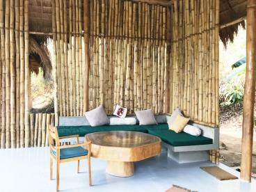 """Das """"Open-Air-Wohnzimmer"""" unserer Familienvilla"""