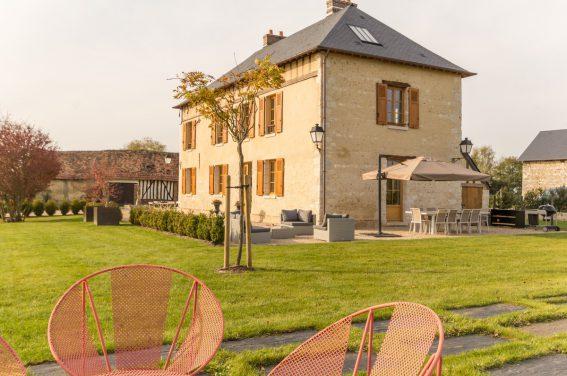 So viel Platz im Urlaub - im Gîte La Marie-Jeanne!