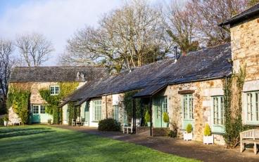 Die traumschönen Steincottages im Glynn Barton waren einst Ställe