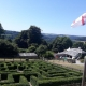 Ein eigenes Labyrinth im Garten - das hat definitiv nicht jeder
