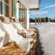 Winteridylle auf der Bergwiese Terrasse