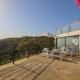 Wenn Ihr im Familienappartement wohnt, habt Ihr eine eigene Terrasse