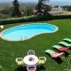 Guincho Villa: Die Villa liegt zwar in einem Wohngebiet, hat aber auf der einen Seite Blick auf Meer und ein Tal