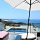 Guincho Bay Villa: Blick von der Familiensuite auf den Pool