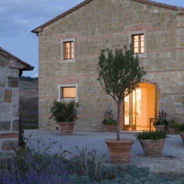 Countryhaus Eingang