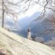 Auf 1200 Meter Höhe liegt das kleine Dörfchen Pliscia
