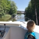 Auch beim Bootfahren gilt Rechtsverkehr