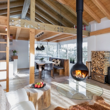 Was für ein WOW-Wohnzimmer!