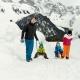 Und im Winter genießt Ihr die Schneelandschaft beim Rodeln...